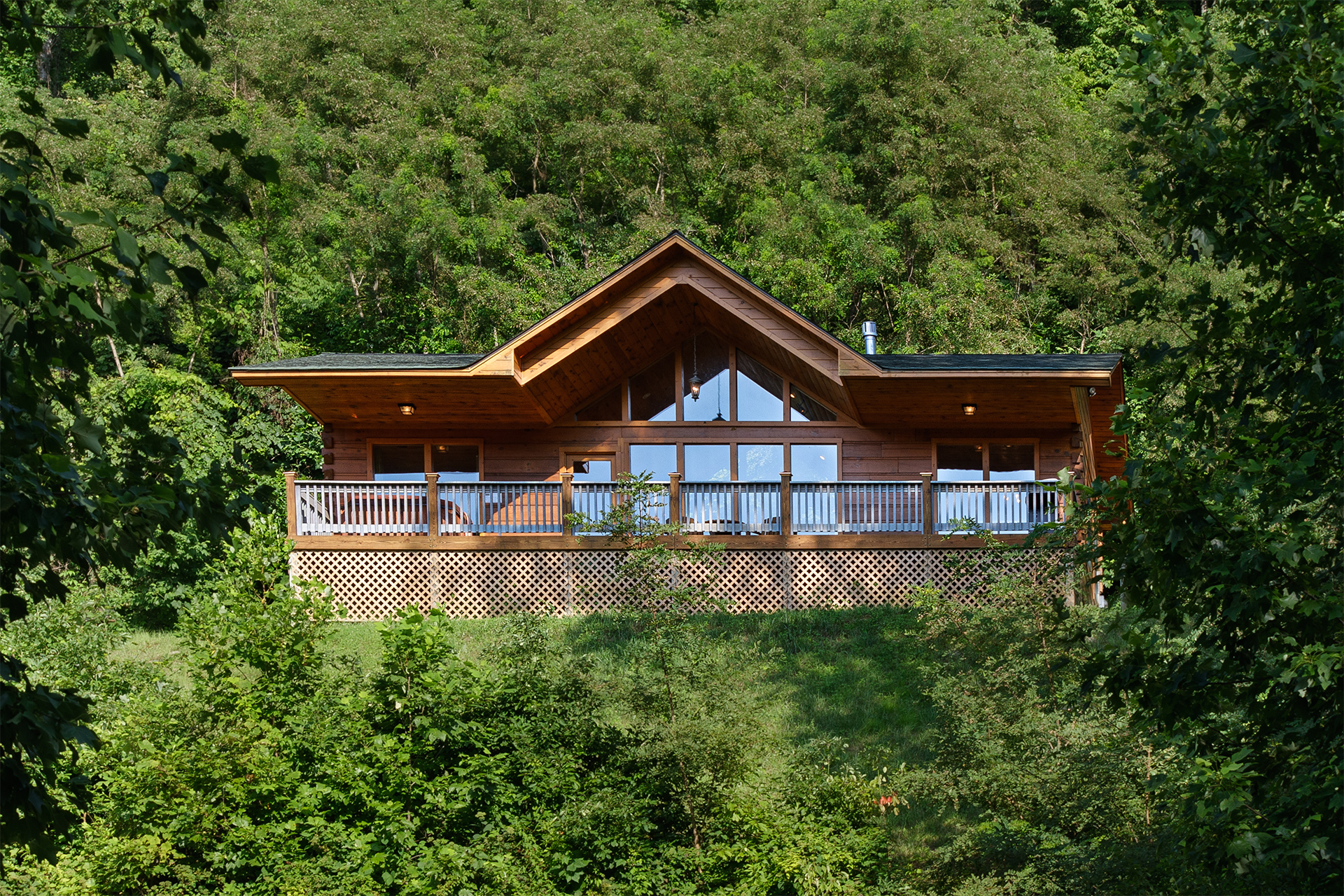 Romantic Getaway nc mountain log cabins rentals 1 bedroom managed by