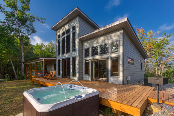 Above it  All vaction rental in Nantahala with scenic mountain view