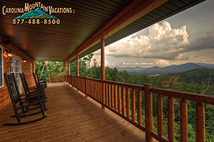 Fontana Lake View cabin