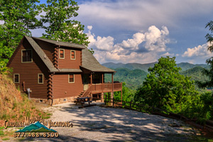Sky Cove Hideaway cabin in Bryson City