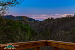 The Hideaway cabin in bryson city nc
