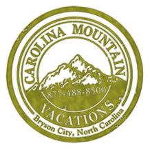 offical Carolina Mountain Vacations rental cabin logo