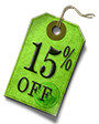 15% Off <br> Nightly Rate <br> untill <br> May 15th